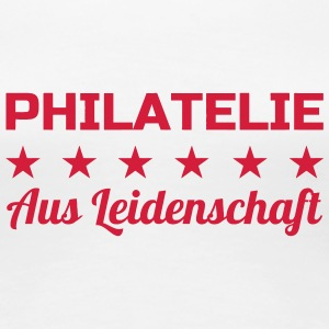 Stempel / Sammlung / Philatelie / Philatelist T-Shirts - Frauen Premium T-Shirt