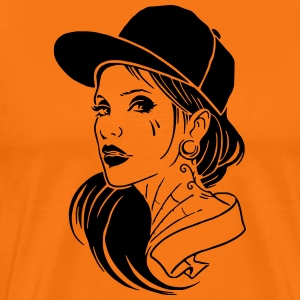 Girl with Style - Männer Premium T-Shirt