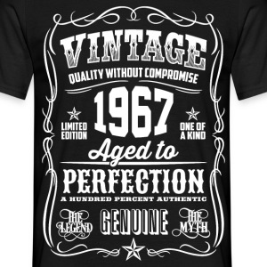1967 Aged to Perfection White print - Camiseta hombre
