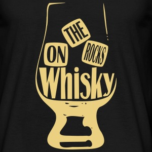 whisky on the rocks Tee shirts - T-shirt Homme