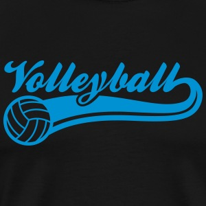 volleybal T-shirts - Mannen Premium T-shirt