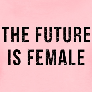 Vintage Look: The Future Is Female T-Shirts - Frauen Premium T-Shirt