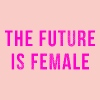 The Future Is Female Gensere - Premium hettegenser for kvinner