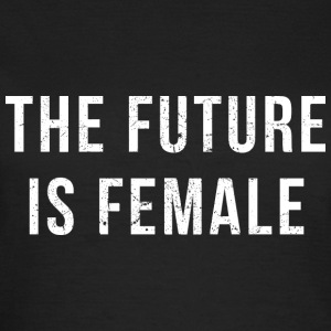 The Future Is Female (white print) Tee shirts - T-shirt Femme