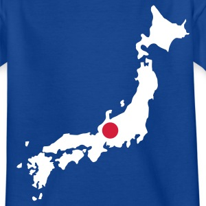 Koningsblauw Japan Kinder shirts - Teenager T-shirt