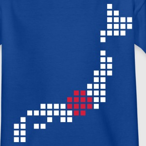 Royal blue Japan Kids' Shirts - Teenage T-shirt