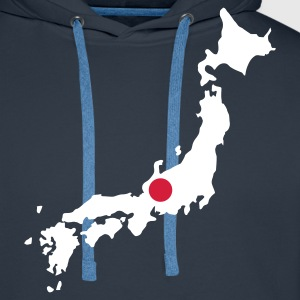 Navy Japan Jumpers - Men's Premium Hoodie