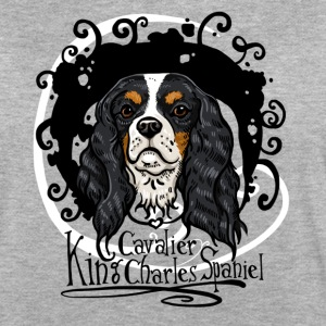 Cavalier King Trico T-Shirts - Frauen Oversize T-Shirt
