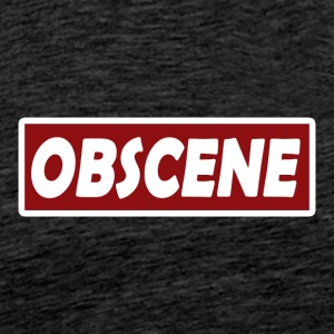 Obscene hat - Men's Premium T-Shirt