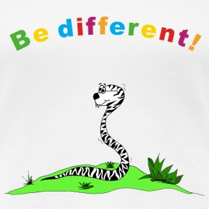 be different T-Shirts - Frauen Premium T-Shirt