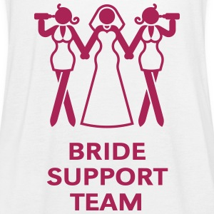 Bride Support Team (Hen Night, Bachelorette Party) Tops - Women's Tank Top by Bella