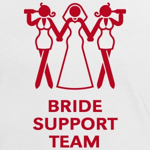 Bride Support Team (Hen Night, Bachelorette Party) T-Shirts - Women's Ringer T-Shirt