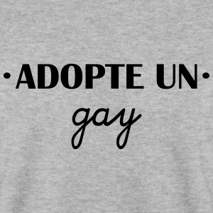 Adopte un gay Sweat-shirts - Sweat-shirt Homme