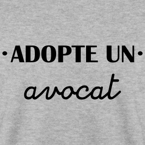 adopte un avocat Sweat-shirts - Sweat-shirt Homme