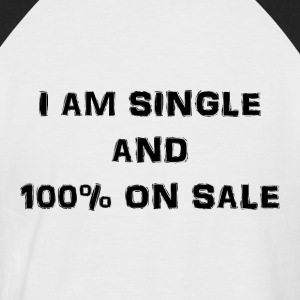 Single and on sale - Kortærmet herre-baseballshirt