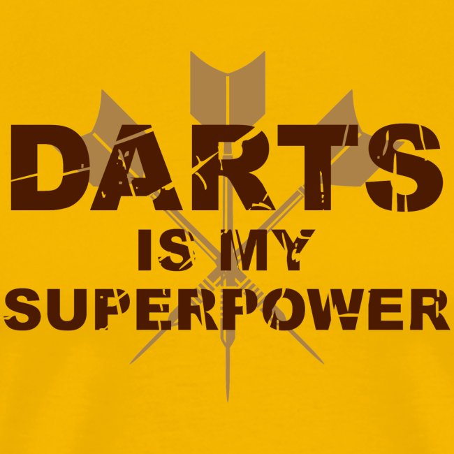 Darts is my Superpower!