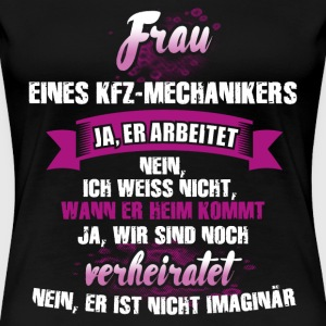 KFZ-Mechaniker T-Shirts - Frauen Premium T-Shirt