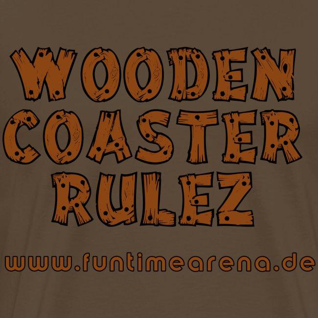Shirt - Wooden Coaster