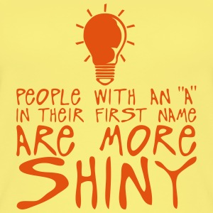 people with a more shiny quote bulb Tops - Women's Organic Tank Top
