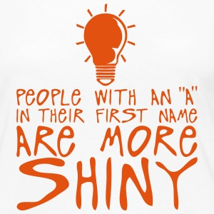 people with a more shiny quote bulb Long Sleeve Shirts - Women's Premium Longsleeve Shirt