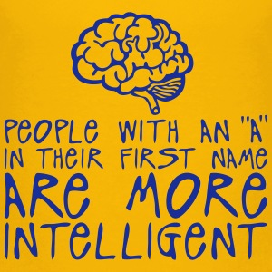 people with a more intelligent quote Shirts - Teenage Premium T-Shirt