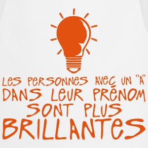 personnes prenom a brillantes citation Tabliers - Tablier de cuisine