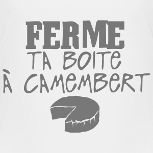ferme boite camembert citation Tee shirts - T-shirt Premium Enfant