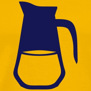 Carafe brau pitcher 712 T-Shirts - Men's Premium T-Shirt