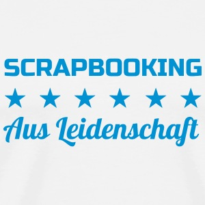 Scrapbooking / Scraper / schroot / workshop T-shirts - Mannen Premium T-shirt