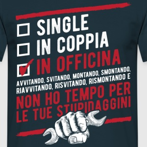 Single in coppia in officina  Tee shirts - T-shirt Homme