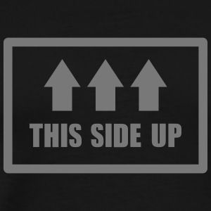 This side up - Premium-T-shirt herr