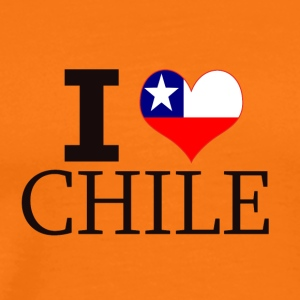 I LOVE CHILE - Männer Premium T-Shirt