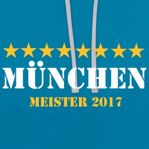 Munich master 2017 - Contrast Colour Hoodie
