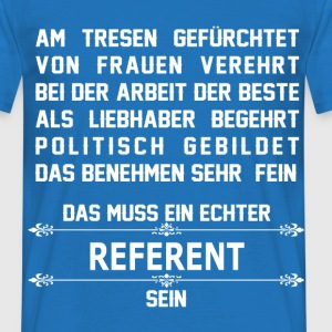 referent T-Shirts - Männer T-Shirt