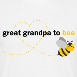 Great Grandpa To Bee T-Shirts - Men's T-Shirt
