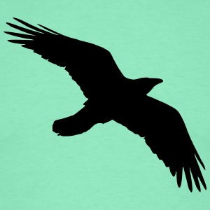 Bird, Crow, Raven T-shirts - Mannen T-shirt