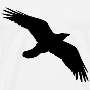 Bird, Crow, Raven T-Shirts - Men's Premium T-Shirt