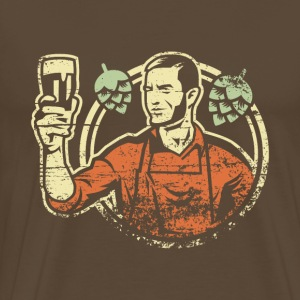 Home Brewing - Männer Premium T-Shirt