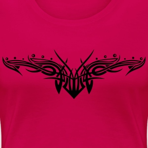 Filigranes Tribal mit Kugeln, Tattoo T-Shirts - Frauen Premium T-Shirt