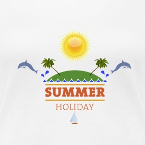 Urlaub Holiday T-Shirts - Frauen Premium T-Shirt