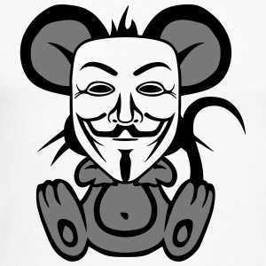 anonymousse anonymous mouse humor Long sleeve shirts - Men's Long Sleeve Baseball T-Shirt