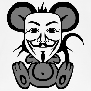 anonymousse anonymous mouse humor Tops - Camiseta de tirantes orgánica mujer