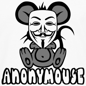 anonymousse anonymous souris humour geek Manches longues - T-shirt manches longues Premium Homme