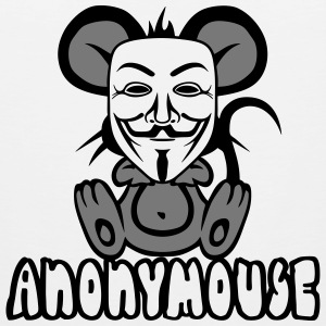 anonymousse anonymous mouse humor geek Sports wear - Men's Premium Tank Top