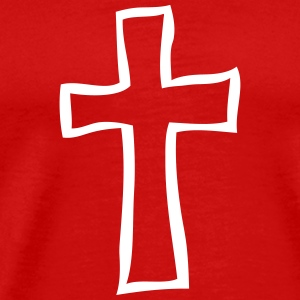 Funeral cross 1 T-Shirts - Men's Premium T-Shirt