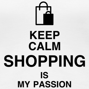 Shopping / Shoppeur / Magasin / Boutique Tee shirts - T-shirt Premium Femme
