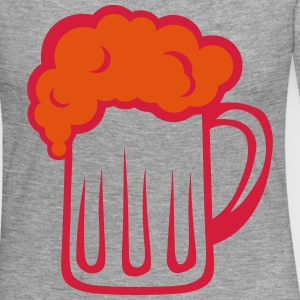 Beer foam glass alcohol 612 Long Sleeve Shirts - Women's Premium Longsleeve Shirt