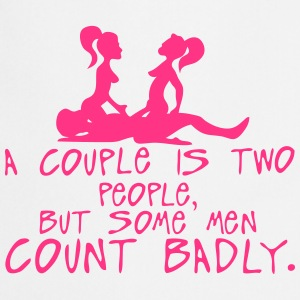 couple two people count badly sexe quote  Aprons - Cooking Apron