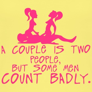 couple two people count badly sexe quote Tops - Camiseta de tirantes orgánica mujer