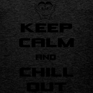 keep_calm_and_chill_out Sportbekleidung - Männer Premium Tank Top